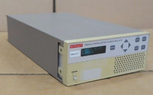 Keithley 2306 15V 5A Dual Channel 60W Power Supply Battery / Charger Simulator